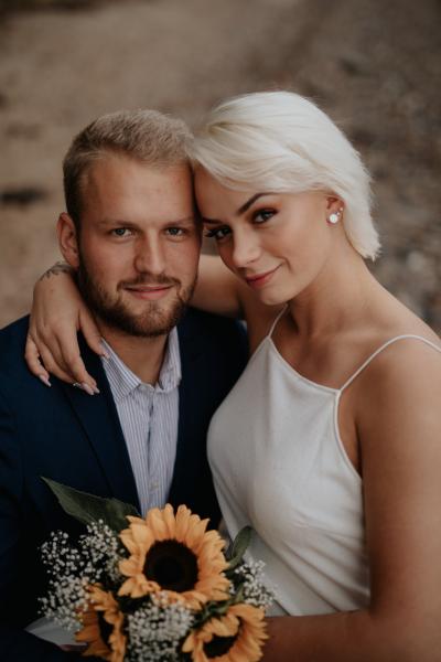 Bryllupsportræt